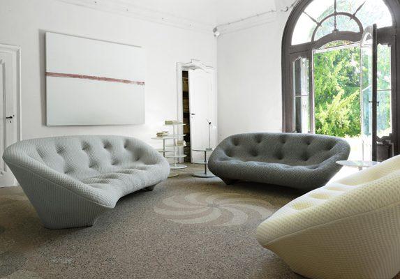 Sofás de oficina Ploum ambientado | Muebles de oficina Spacio