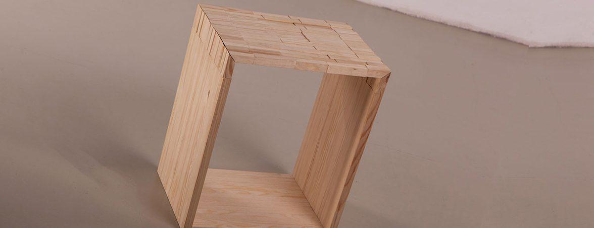 Taburete de madera general | Muebles de oficina Spacio