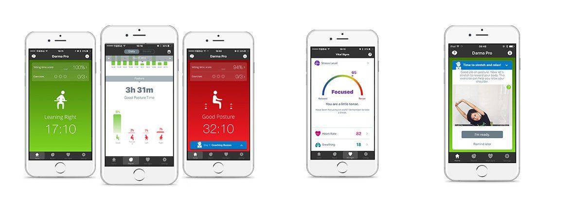 Wearable para tu silla app | Muebles de oficina Spacio