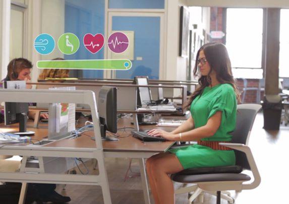 Wearable para tu silla oficina | Muebles de oficina Spacio