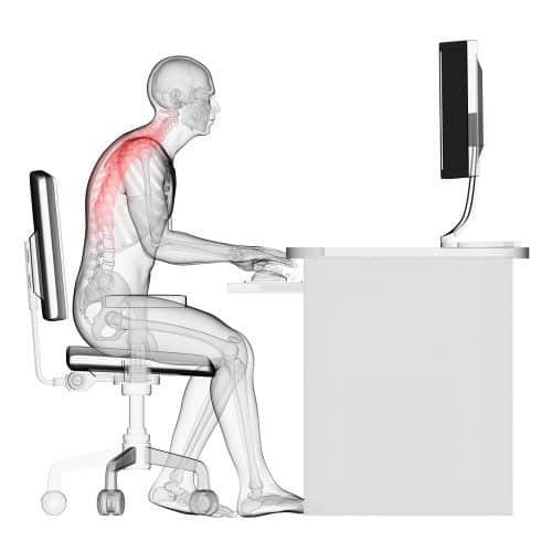 Como sentarse correctamente dolor espalda | Muebles de oficina Spacio