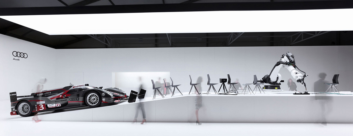 Diseño sillas y coches Audi | Muebles de oficina Spacio