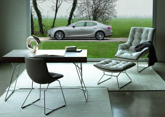 Diseño sillas y coches Maserati | Muebles de oficina Spacio