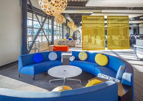 Oficina del futuro sala descanso | Muebles de oficina Spacio