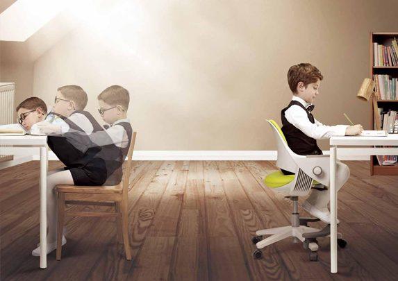 Postura corporal niños | Muebles de oficina Spacio