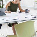 Silla de escritorio Whass verde | Muebles de oficina Spacio