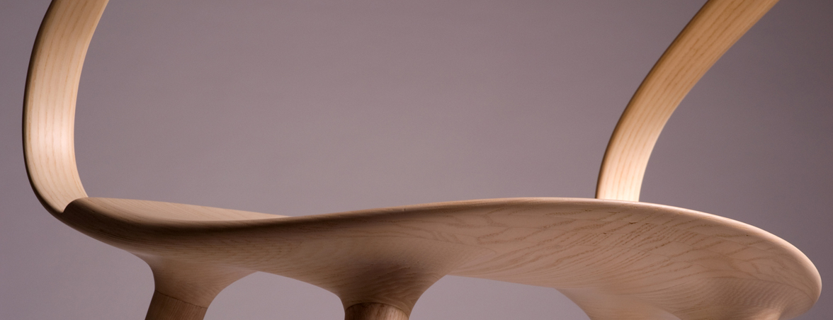 Silla de madera Velo detalle | Muebles de oficina Spacio