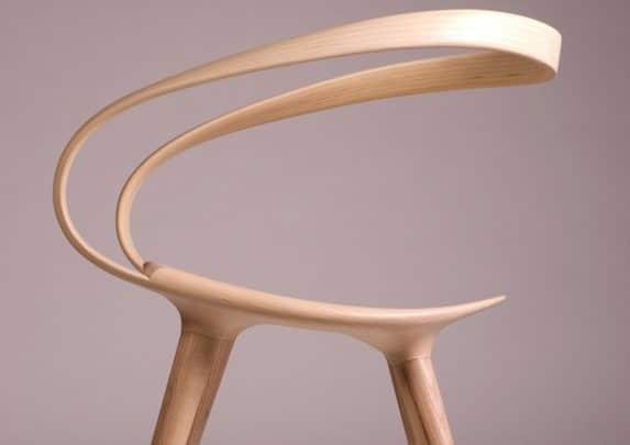 Silla de madera Velo respaldo | Muebles de oficina Spacio