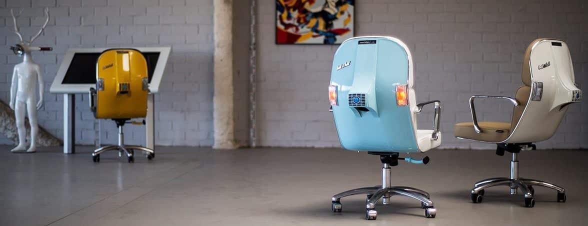 Silla de oficina Vespa ambientada | Muebles de oficina Spacio