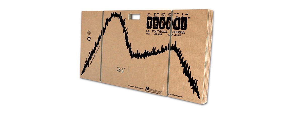 Silla ecológica cartón | Muebles de oficina Spacio