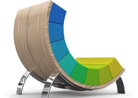 Silla inteligente patas cromadas | Muebles de oficina Spacio