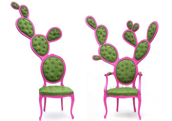 Sillas originales cactus | Muebles de oficina Spacio