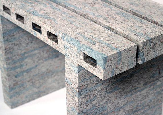 Sillas recicladas detalle | Muebles de oficina Spacio