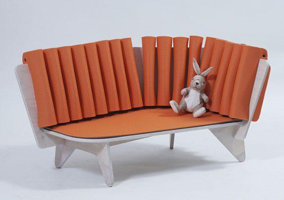 Sofá para niños con peluche | Muebles de oficina Spacio