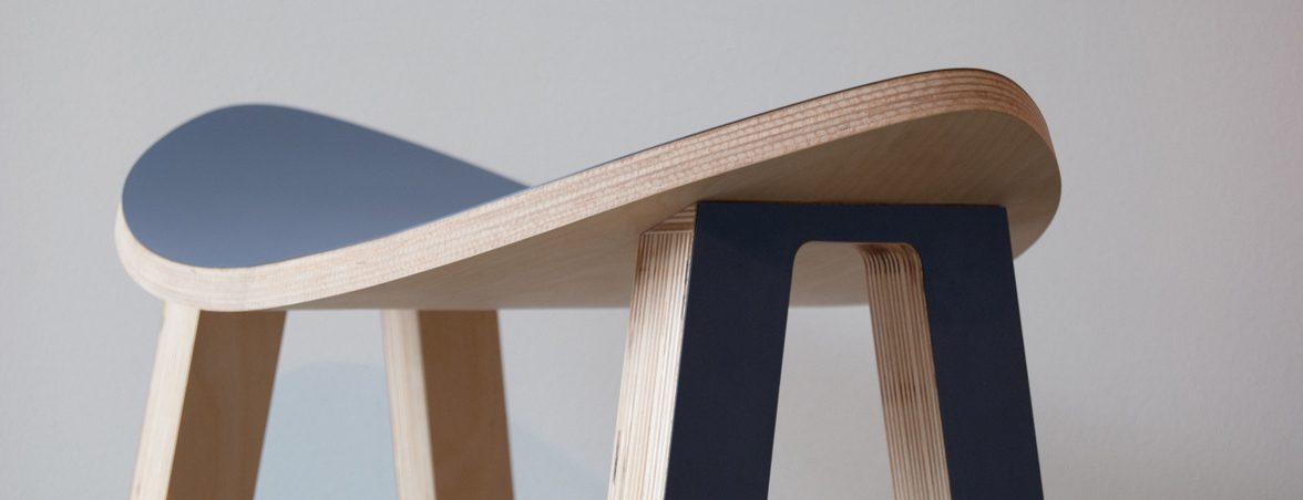 Taburete con movimiento frontal | Muebles de oficina Spacio