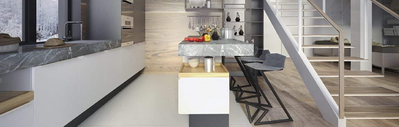 Taburete diseño cocina 2 | Muebles de oficina Spacio