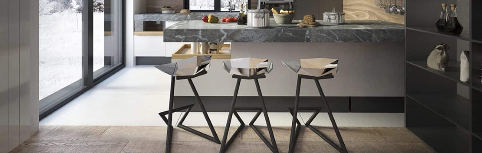 Taburete diseño cocina | Muebles de oficina Spacio