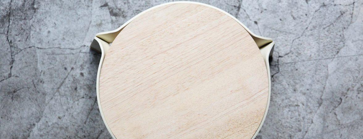 Taburetes apilables cenital | Muebles de oficina Spacio