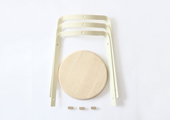 Taburetes apilables materiales | Muebles de oficina Spacio