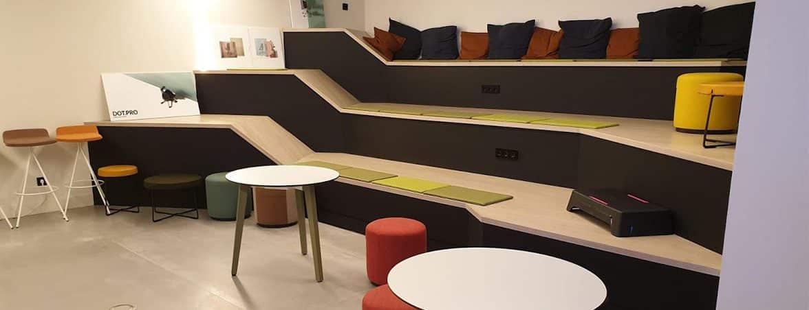 Novedades mobiliario oficina 2019 formación | Muebles de oficina Spacio