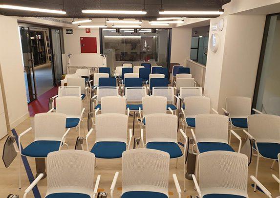 Novedades muebles de oficina 2019 sala formación | Muebles de oficina Spacio