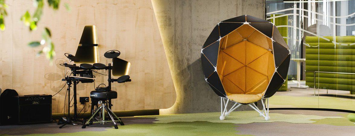 Soft-seating esférico portada | Muebles de oficina Spacio