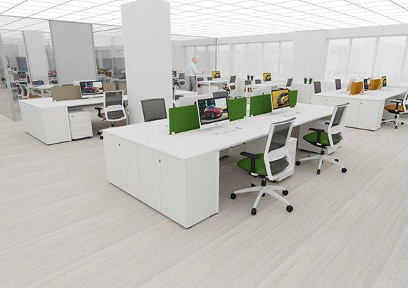 Muebles de oficina en realidad virtual | Muebles de oficina Spacio