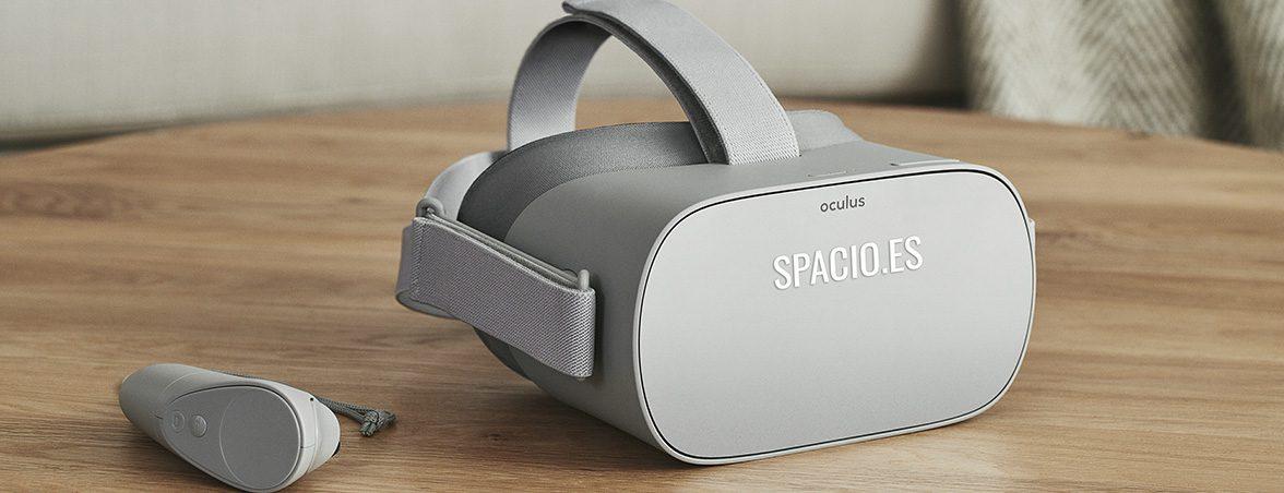 Muebles de oficina realidad virtual Oculus Go | Muebles de oficina Spacio