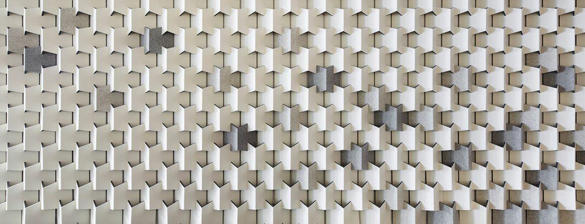 Paneles fonoabsorbentes grises | Muebles de oficina Spacio