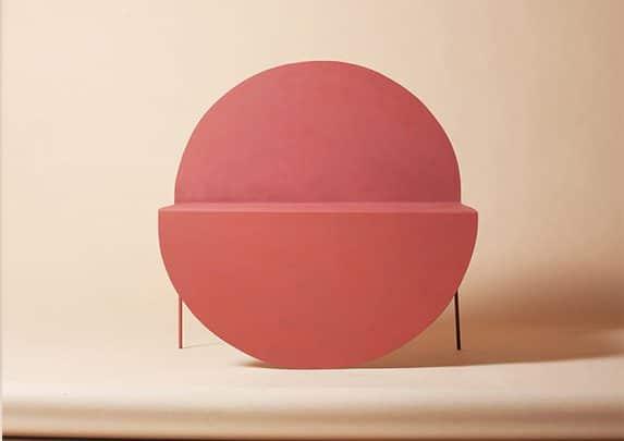 Silla redonda frontal | Muebles de oficina Spacio