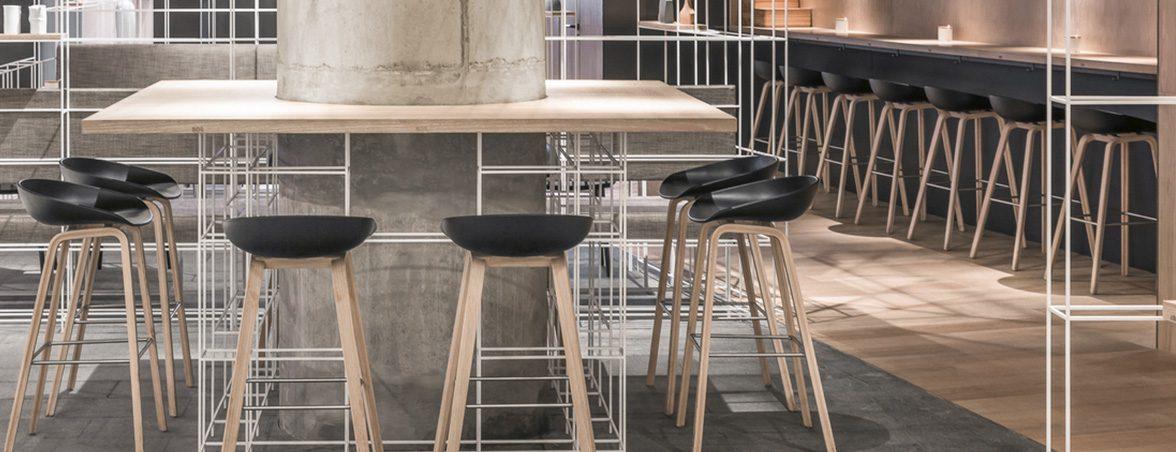 Taburetes para restaurante AAS 32 | Muebles de oficina Spacio