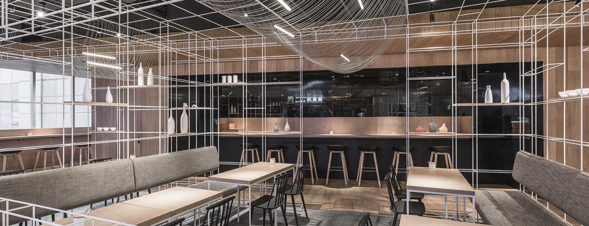 Taburetes para restaurante comedor | Muebles de oficina Spacio