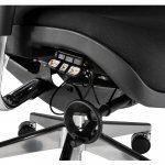 Silla oficina New Ergostone detalle mando | Muebles de Oficina Spacio