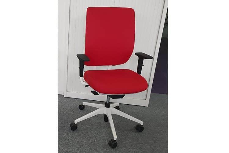 Silla Oficina Trim Rojo | Muebles de Oficina Spacio