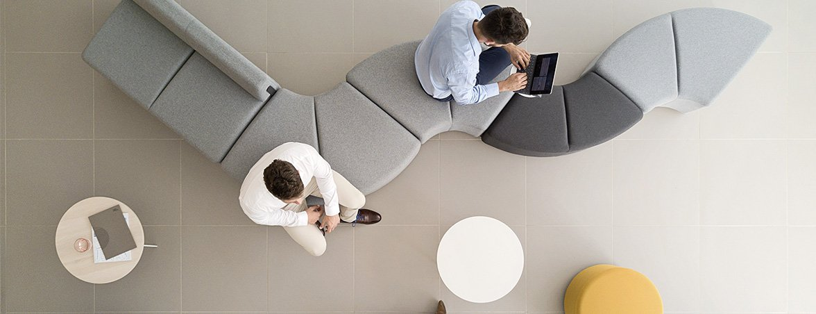 Importancia mobiliario oficina sala espera | Muebles de oficina Spacio