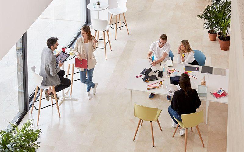Oficinas con producto Actiu | Muebles de oficina Spacio