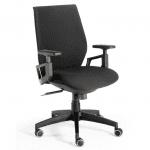 Silla para trabajar Zurich negra | Muebles de oficina Spacio