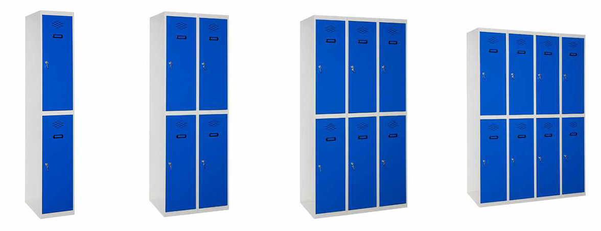 Taquillas de dos puertas portada | Muebles de oficina Spacio