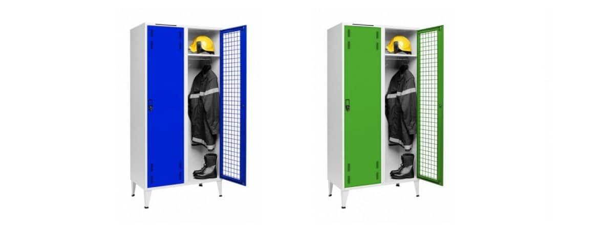 Taquillas bomberos portada | Muebles de oficina Spacio