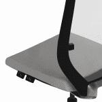 Silla ergonómica malla Eben detalle | Muebles de oficina Spacio