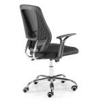 Silla oficina barata Euromof Génova perfil | Muebles de oficina Spacio