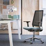 Silla oficina alta gama Sense lumbar | Muebles de oficina Spacio