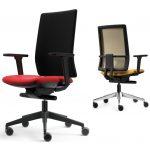 Silla para trabajar en casa Spot dúo   Muebles de oficina Spacio