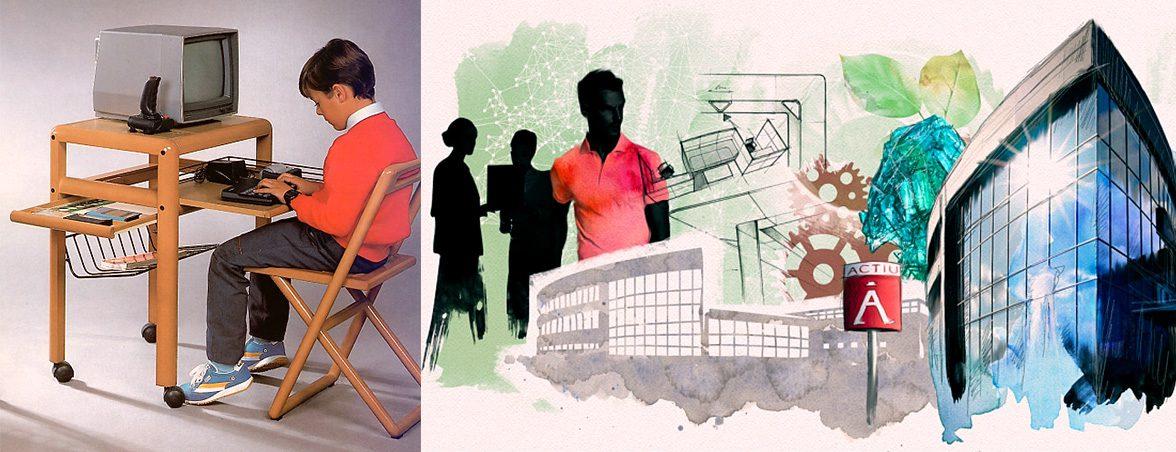Actiu y su constante evolución   Muebles de oficina Spacio