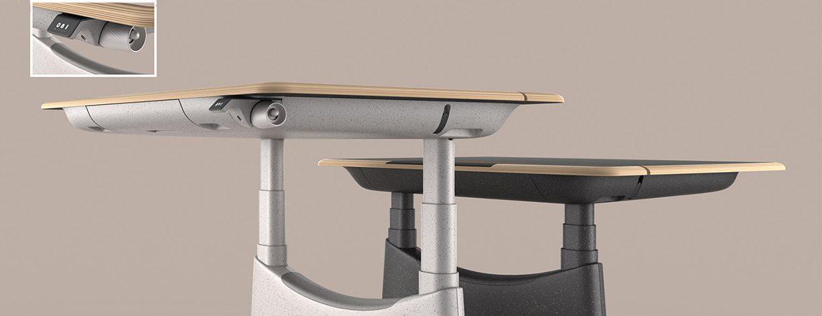 UFOU UPON El escritorio asiático más inteligente hasta el momento   Mobiliario de Oficina Spacio