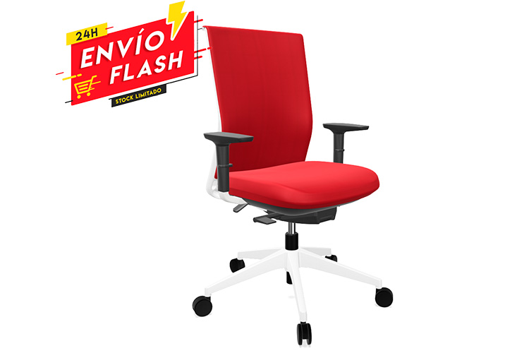 Actiu Stay Red Devil White listado | Muebles de Oficina Spacio
