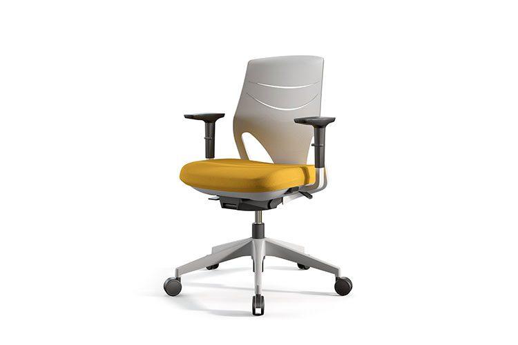 Silla Actiu Efit Home Office Mostaza | Muebles de oficina Spacio