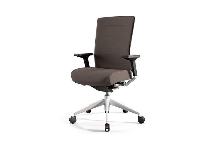 Silla Actiu Tnk Flex Home Office Marrón | Muebles de oficina Spacio