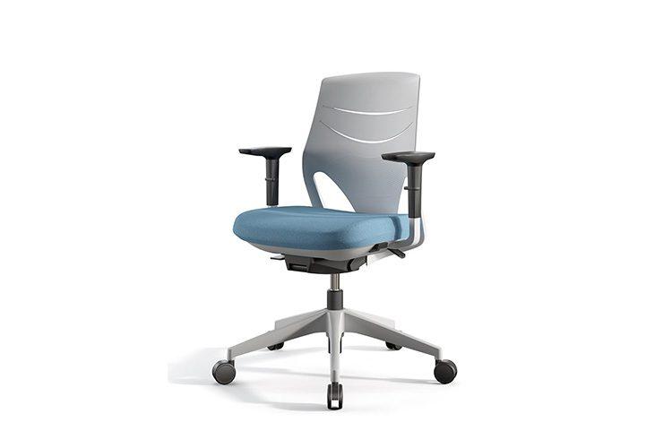 Silla Actiu Efit Home Office Azul | Muebles de oficina Spacio