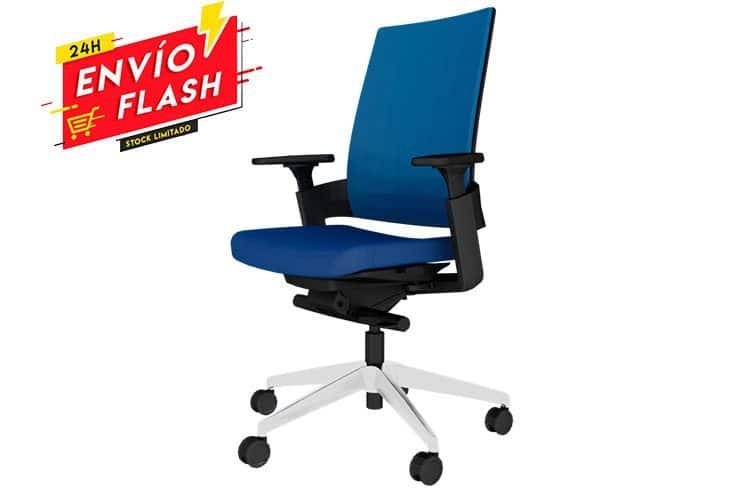 Silla Forma 5 3.60 azul | Muebles de Oficina Spacio